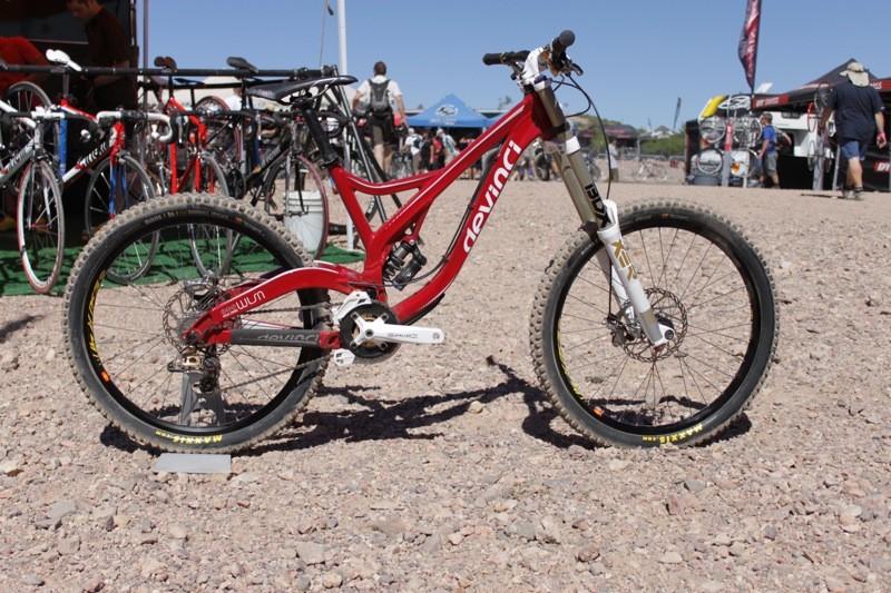Devinci's Wilson Split Pivot downhill racer comes with a lifetime warranty