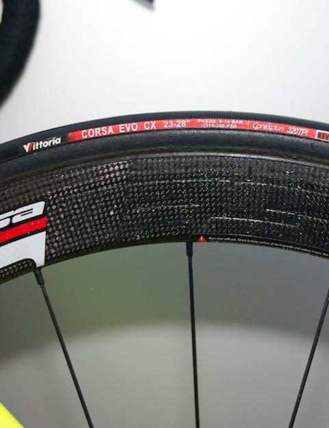 Vittoria Corsa CX tubular tyres