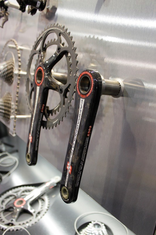 A titanium semi-axle option for the Super Record crank