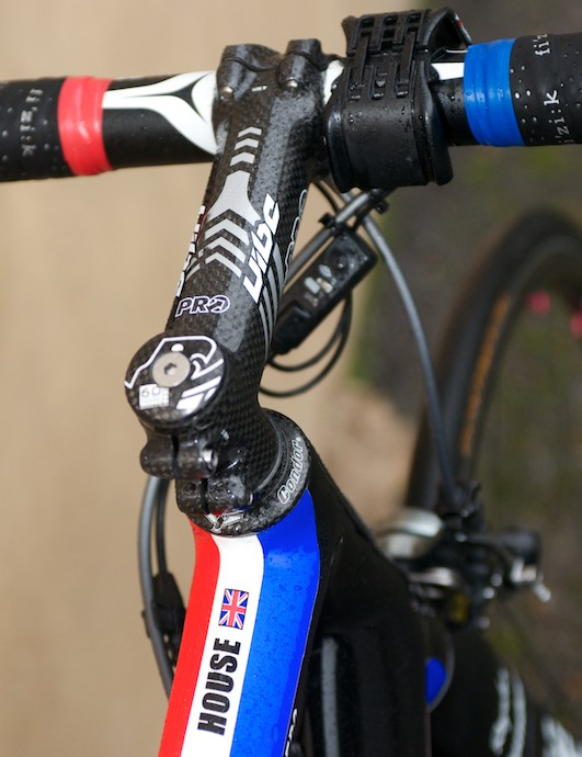 No mistaking whose bike this is