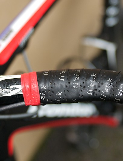 PRO Vibe bars wrapped in grippy Fizik tape