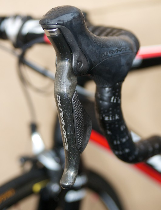 House is one of only three Rapha riders to have Di2
