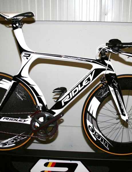 The Dean is Ridley's top-end time trial bike