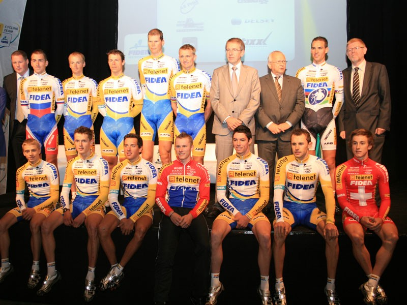 Fidea will continue to be sponsored by Ridley in 2011