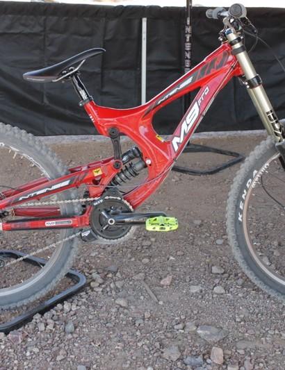 M9 at the Interbike dirt demo