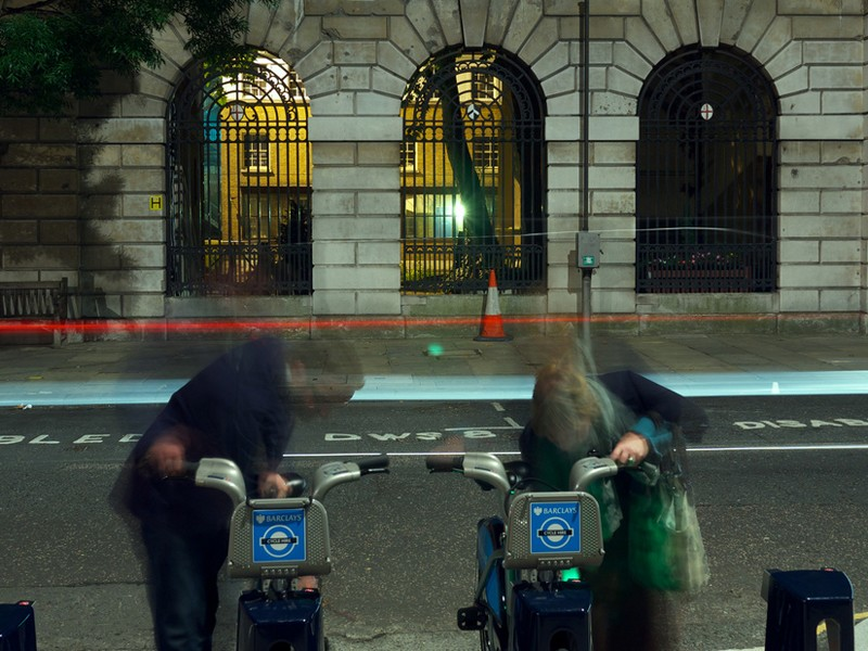 Calls have been made for helmets to be provided with London's Barclays Cycle Hire bikes