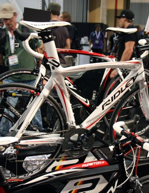 The Ridley Noah aero road bike carries over into 2011 essentially unchanged