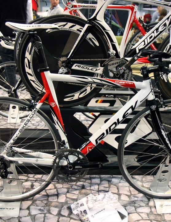 Ridley peg their aluminium Cheetah as an affordable time trial or triathlon bike