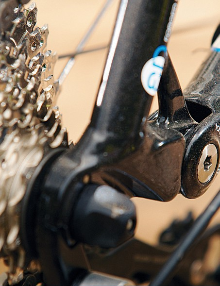 Well finished Horst Link  running on real bearings  – this bike is built to last