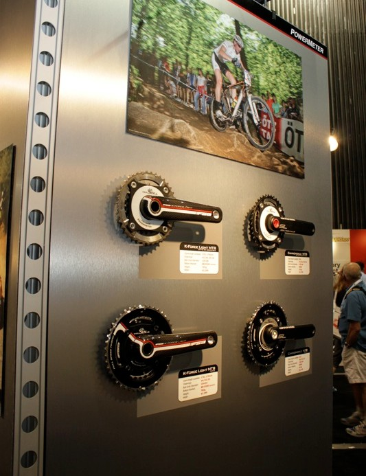 FSA and Cannondale will each offer two mountain bike cranks in triple and double configurations