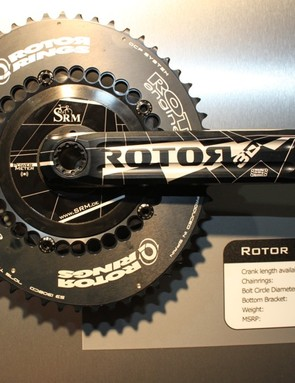 A Rotor crank arm option will be available late spring 2011.
