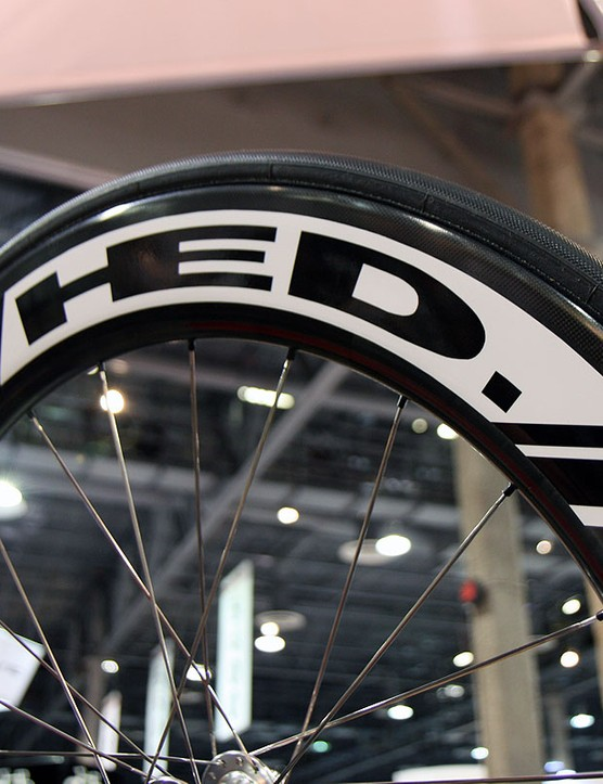 The new HED Stinger 7 is aimed at sprinters looking for especially stiff wheels
