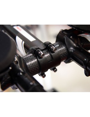 A four-bolt faceplate is included for a solid purchase on carbon bars