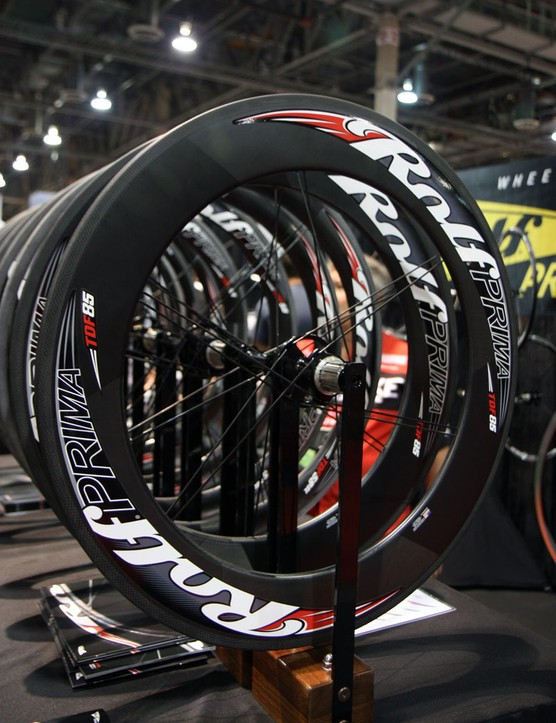 Rolf Prima are among the latest companies to adopt the wider-is-better philosophy with the 23mm-wide carbon hoops on their new TDF85 wheels