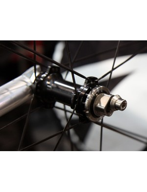 Rolf Prima's singlespeed wheels are built around White Industries' ENO eccentric hub