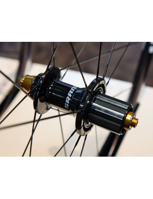 CeramicSpeed hybrid ceramic cartridge bearings are fitted throughout the new SRAM S30AL Gold hubs