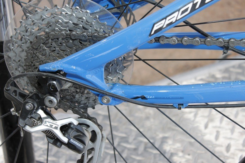 A look at Norco's cross-country A.R.T. FSR linkage