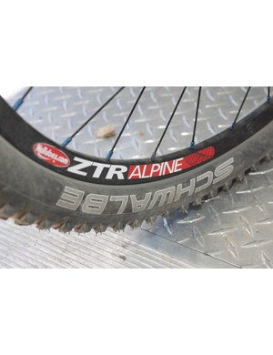 NoTubes.com's ZTR Alpine rims are a welcome addition for both their lightweight and easy tubeless set up