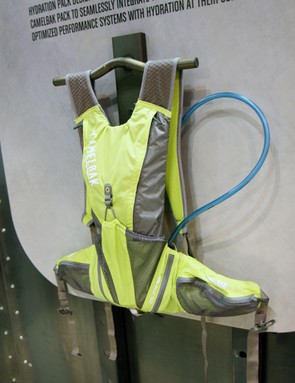 The CamelBak Octane LR places its 2L reservoir down around your hips, where the load is more stable and less likely to shift around during technical manoeuvres