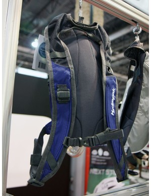 Hydrapak generally prefer to go the more minimal route in terms of their hydration pack back panels, as seen on the Avila