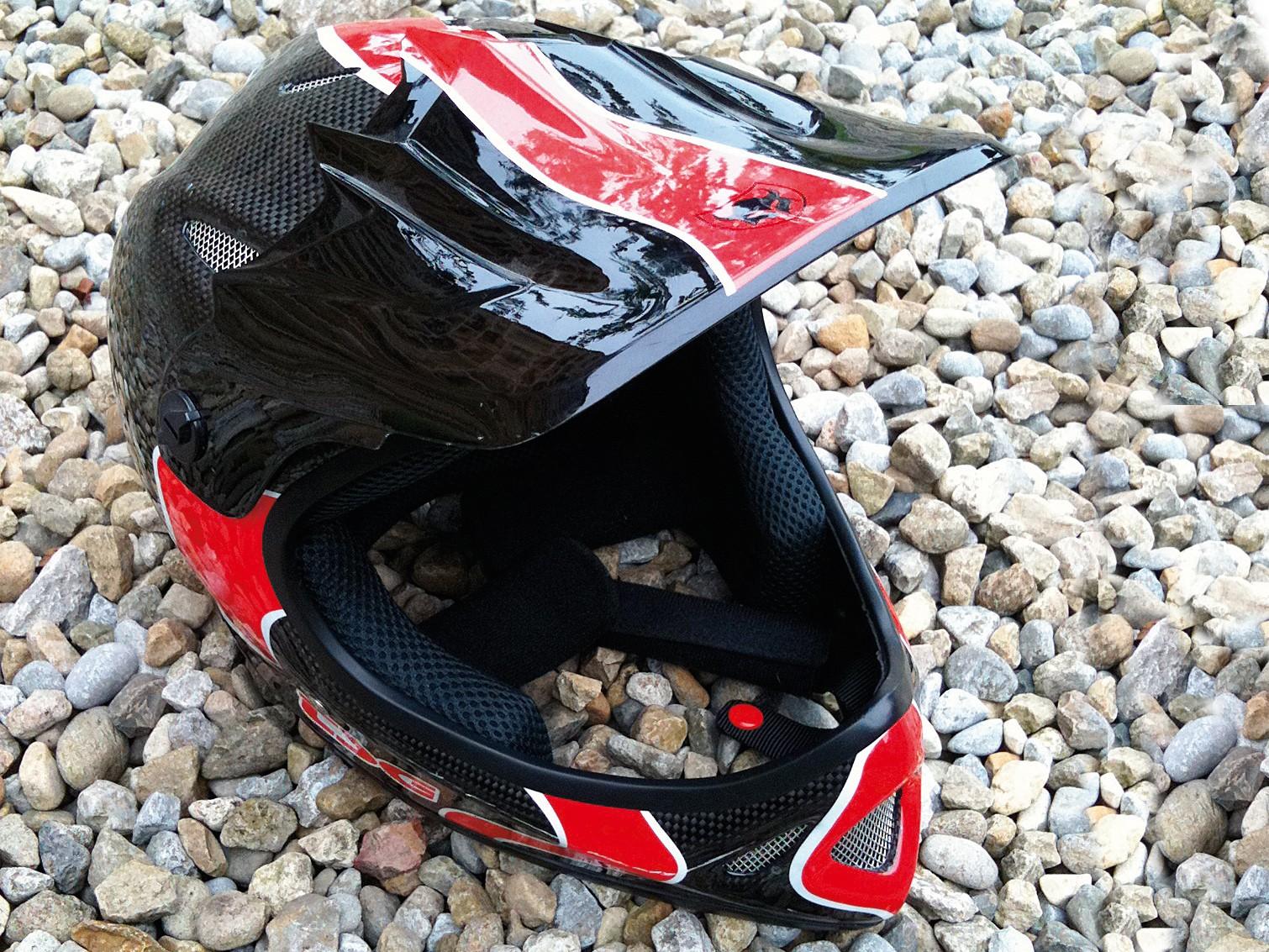 TSG Staten carbon full face helmet