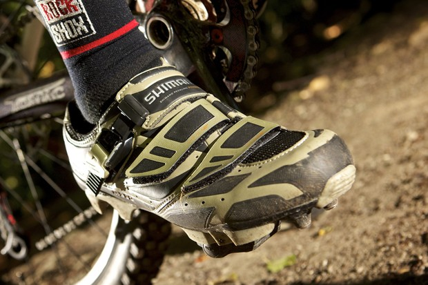 Shimano M230 custom-fit shoes