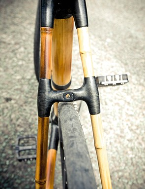 Where the frame differs from your average carbon model  is in its ability to swallow up vibrations over rough surfaces