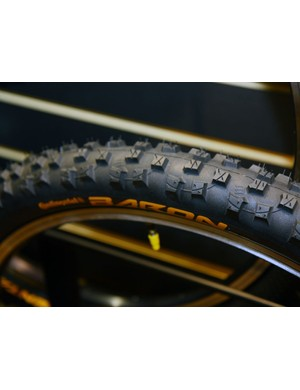 The Continental Baron gets the same tread design as last year's Rain King but with a smaller 2.3in casing