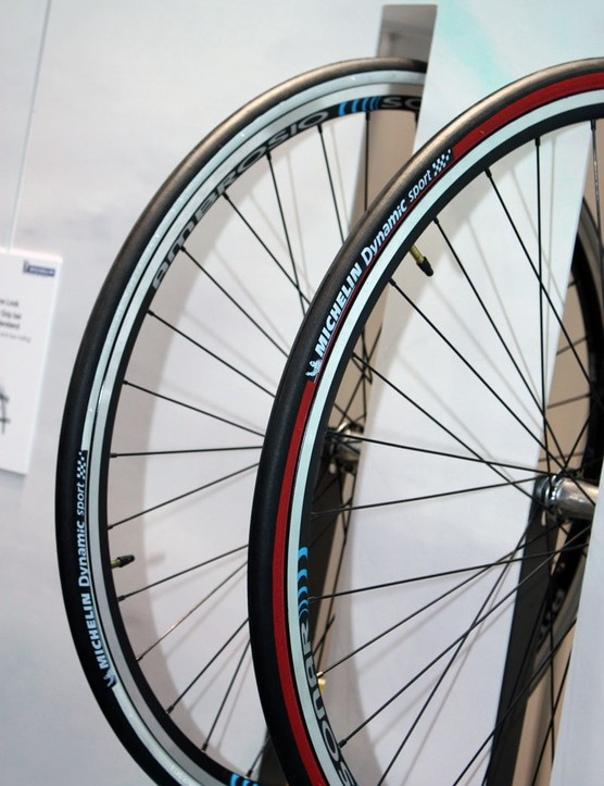 Michelin's new Dynamic Sport is a budget-priced road clincher available in multiple colours