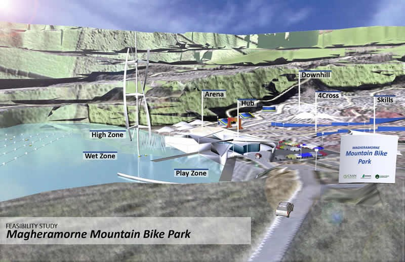 An artist's impression of what the site could look like