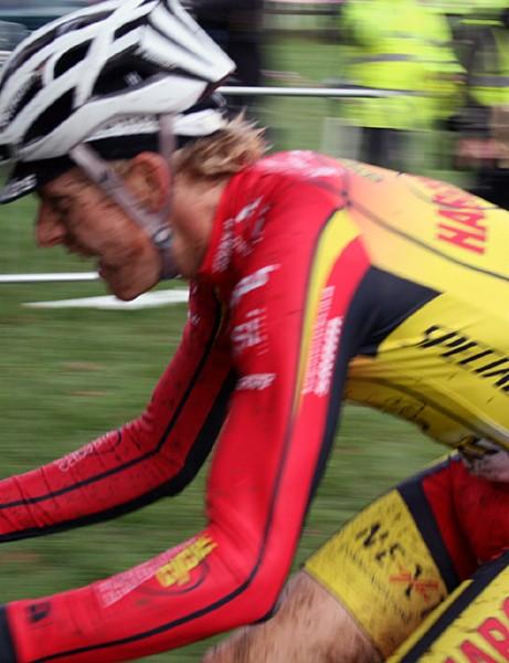 Cyclo-cross winner