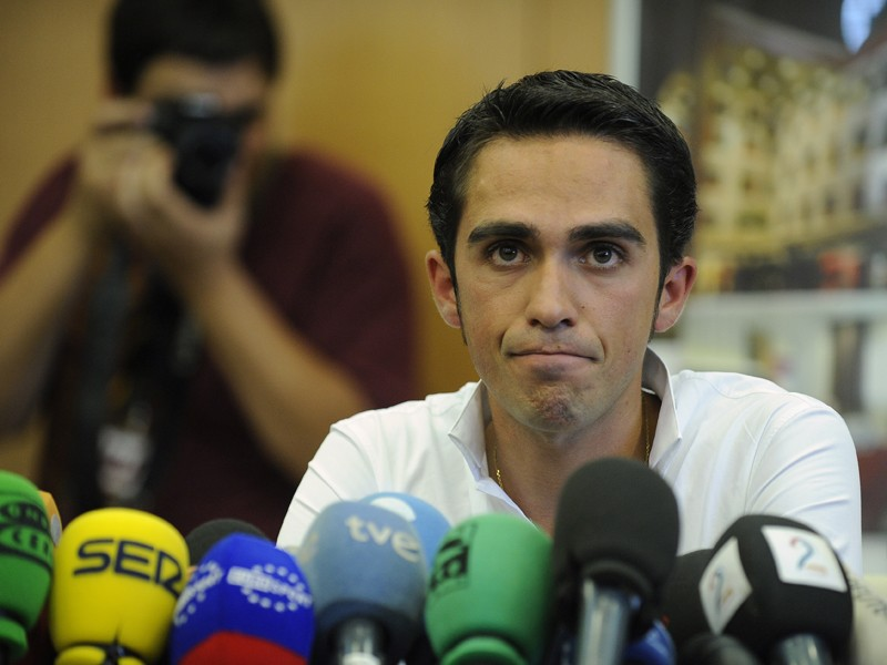 "Alberto Contador is ""very optimistic"" that doping accusations will be dropped"