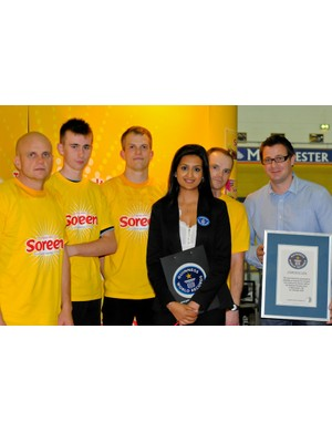 Guinness World Records confirm the event's success