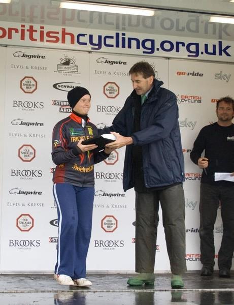 Hilde Verbeken, women's trike world champ