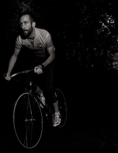 The only fixed gear entrant
