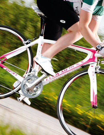 The frame and fork have some really nice features that lend themselves to a fast ride when the power is put down