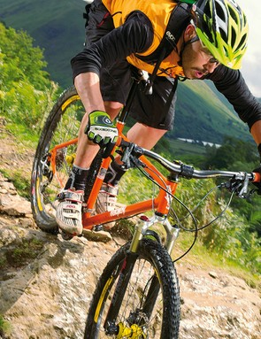 The Ragley is a bike that revels in being pumped straight through lines you'd normally ride around on a hardtail