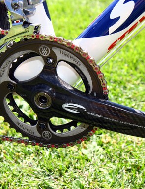 Zipp's VumaQuad crank sheds heaps of weight compared to most other high-end offerings