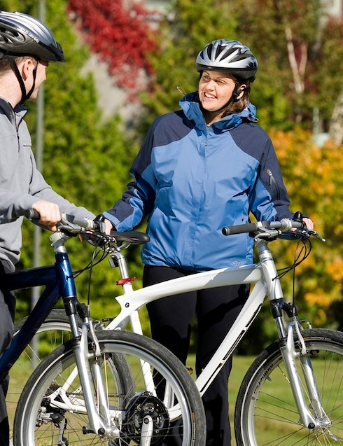 The upscale Fairmont boutique hotel chain offers BMW Cruise Bikes for guests