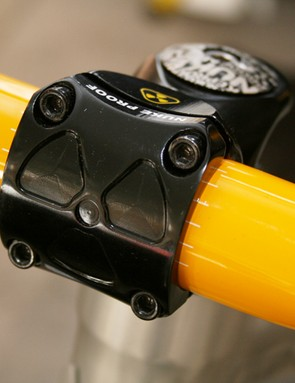 Nukeproof Scalp prototype downhill bike