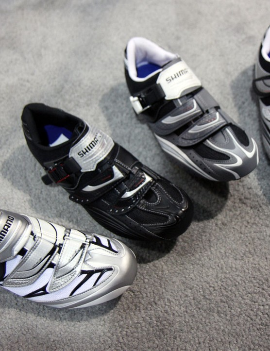 Shimano beef up the middle of their road range with four new models for 2011