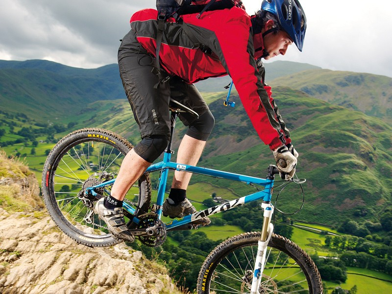 If you like your trails hard, steep and fast the bfe's huge versatility is going to be hard to resist