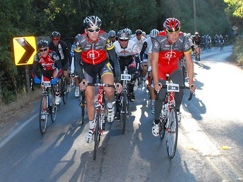 Phinney and Selander lead the 2010 King Ridge Gran Fondo