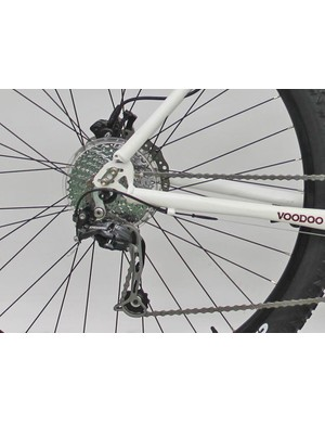 According to Halfords, the Bokor 29er uses patented sliding dropouts