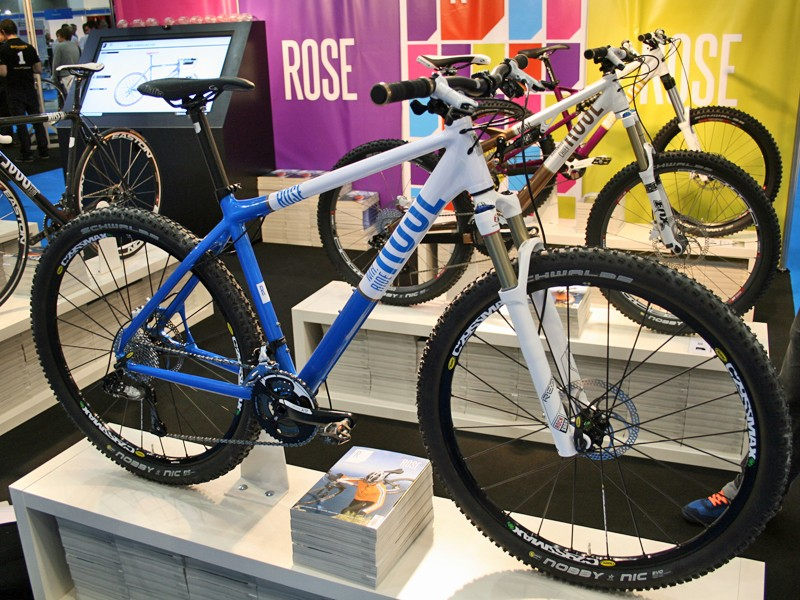 Rose were showing off the new Mr Ride 29er mountain bike at Cycle Show 2010; the version here has a custom spec