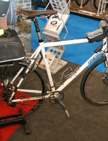 Vin Cox's round-the-world bike