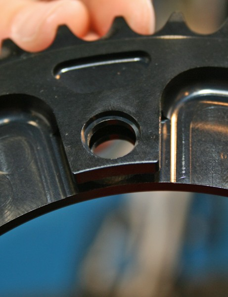 USE's new track chainring