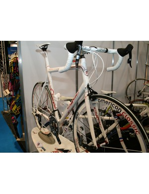 Boutique Cycles' team edition Cyfac; one for lovers of white bikes