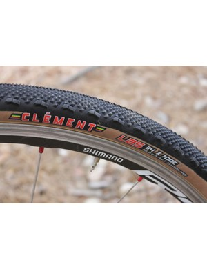 Clément's 2011 LAS file tread cyclo-cross tire