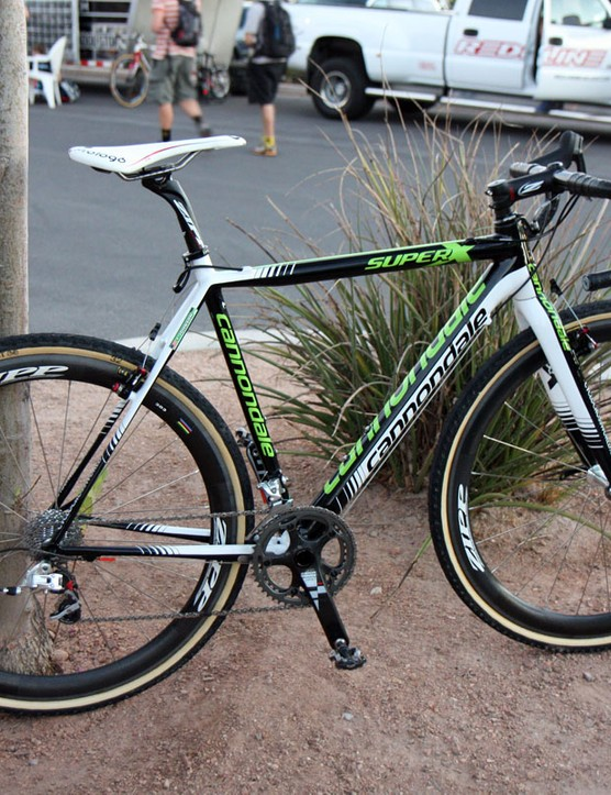 US national cyclo-cross champion Tim Johnson (Cannondale-CyclocrossWorld.com) has made the switch from aluminium to carbon for this season
